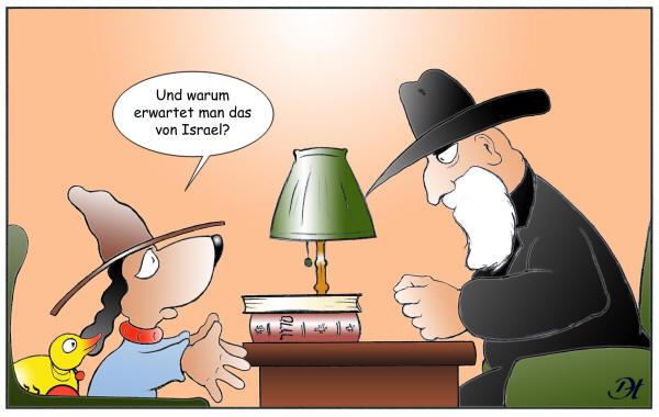 Moishe Hundesohn - Moishe fragt: www.israeli-art.com/satire/fragen.htm